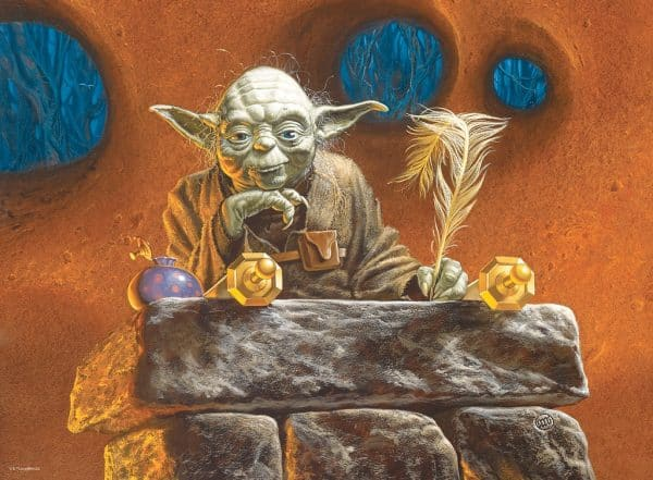 Star Wars Yoda Ravensburger Kinderpuzzel