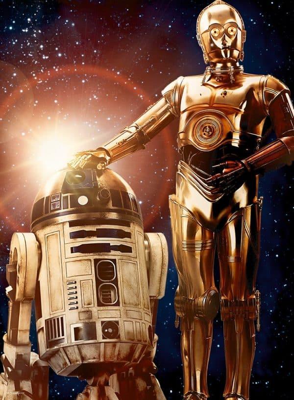Star Wars De Droïd Ravensburger Kinderpuzzel