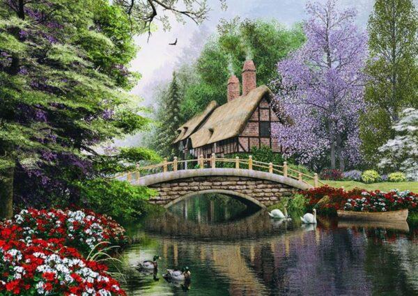 stone bridge 4620 art puzzel 1