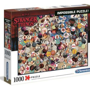 Stranger Things Impossible Puzzel Clementoni