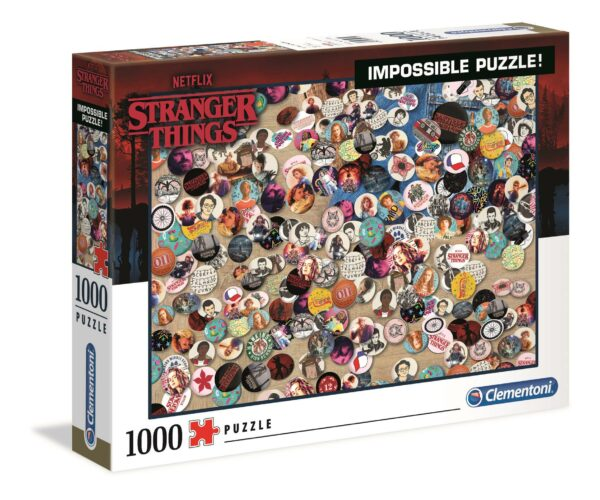 Stranger Things Impossible Puzzel Clementoni39528 02 Legpuzzels