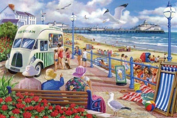 Sun Sea Sand The House Of Puzzles Legpuzzel 5060002003299 1.jpg