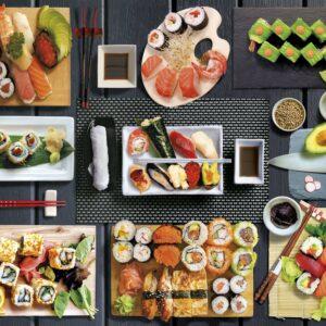 Sushi Clementoni puzzel Japans