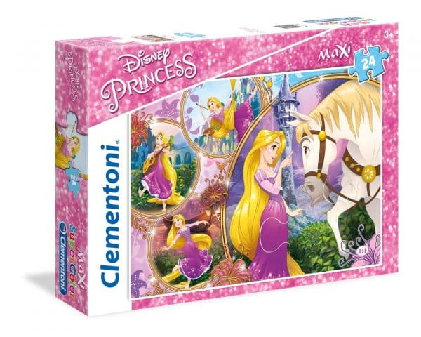 Tangled Rapunzel Clementoni Kinderpuzzel Prinses