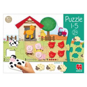 tellen op de boerderij vorm puzzel jumbo 53438 int 5