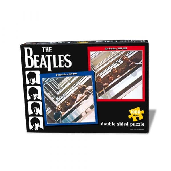 The Beatles Red & Blue Rocksaws47854 01 Legpuzzels.nl