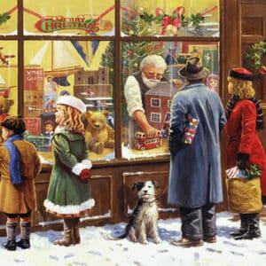 The Christmas Window Falcon 1