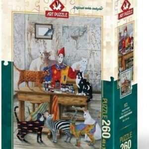 The Coloured Cats Art Legpuzzels