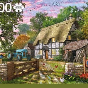 The Farmer S Cottage Jumbo18870 01 Legpuzzels.nl