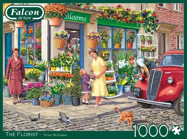 The Florist Jumbo11297 04 Legpuzzels.nl