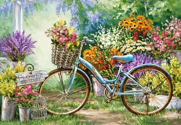 The Flower Mart Castorland103898 2 01 Legpuzzels