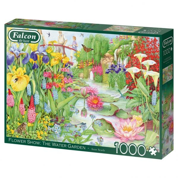 The Flower Show The Water Garden Jumbo11282 02 Legpuzzels.nl