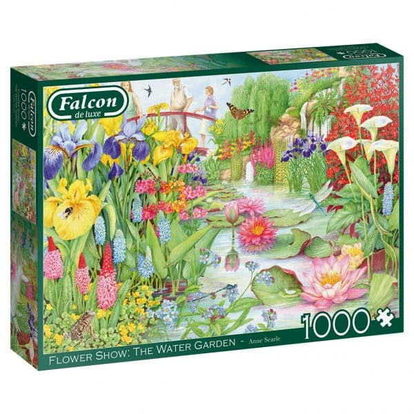 The Flower Show The Water Garden Jumbo11282 03 Legpuzzels.nl