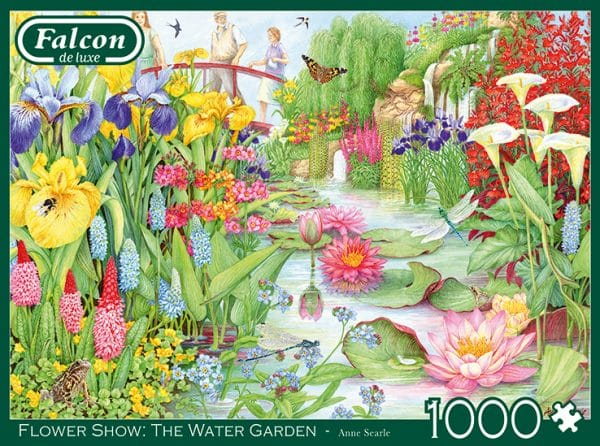 The Flower Show The Water Garden Jumbo11282 04 Legpuzzels.nl