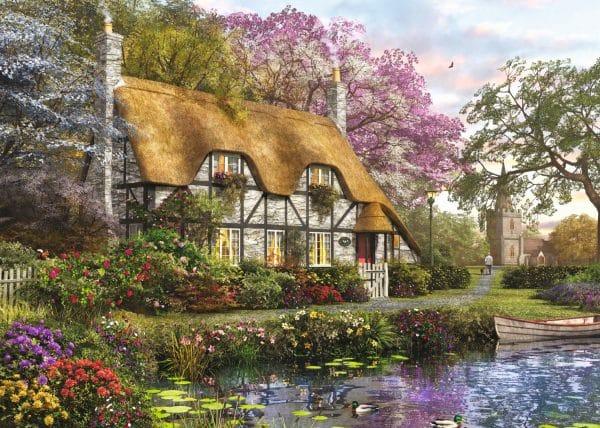 The Gardener S Cottage Jumbo11205 01 Legpuzzels.nl