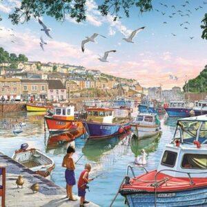 The Little Fishermann Art Legpuzzels