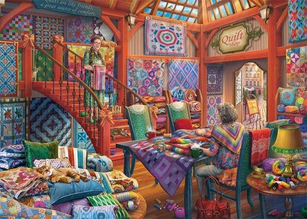The Quilt Shop Jumbo11285 01 Legpuzzels.nl