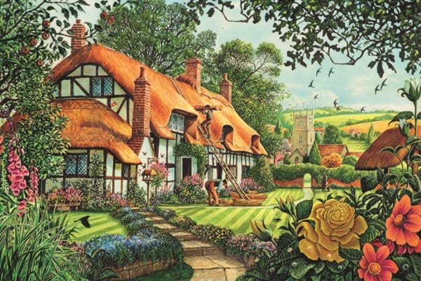 The Thatcher S Cottage Jumbo11113 01 Legpuzzels.nl