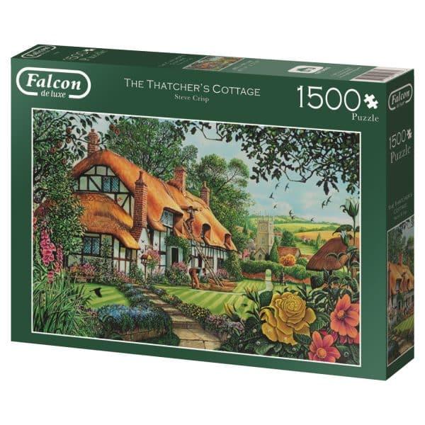 The Thatcher S Cottage Jumbo11113 02 Legpuzzels.nl