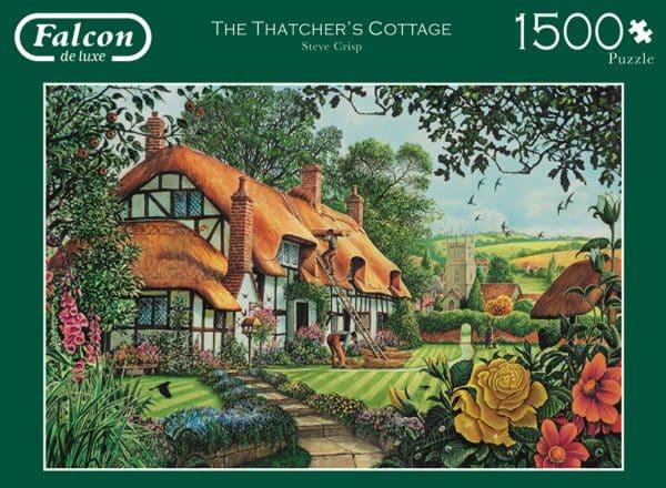 The Thatcher S Cottage Jumbo11113 04 Legpuzzels.nl