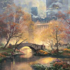Thomas Kinkade Herfst Central Park
