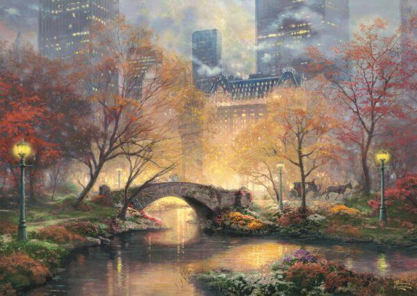 Thomas Kinkade Herfst Central Park