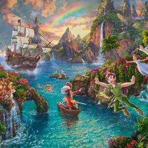 Thomas Kinkade Disney Peter Pan