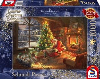 Thomas Kinkade Santa Clause Schmidt