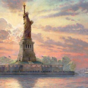 Vrijheidsbeeld Thomas Kinkade New York