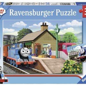 Thomas De Trein Thomas De Locomotief Ravensburger075836 01 Kinderpuzzels.nl .jpg