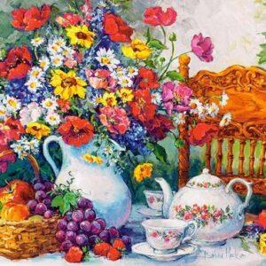 Time For Tea Castorland103836 2 01 Legpuzzels