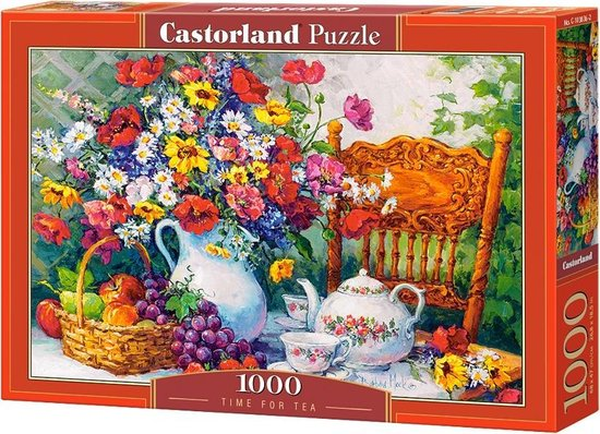 Time For Tea Castorland103836 2 02 Legpuzzels