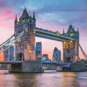 Tower Bridge Sunset Clementoni londen