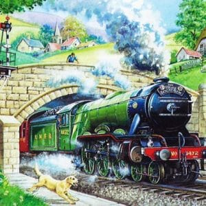 Train Spotting The House Of Puzzles Legpuzzel 5060002001448 1.jpg