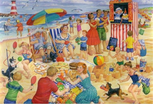 Trip To The Seaside The House Of Puzzles Legpuzzel 5060002003459 1.jpg