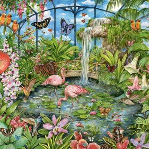 Tropical Conservatory Jumbo11295 01 Legpuzzels.nl