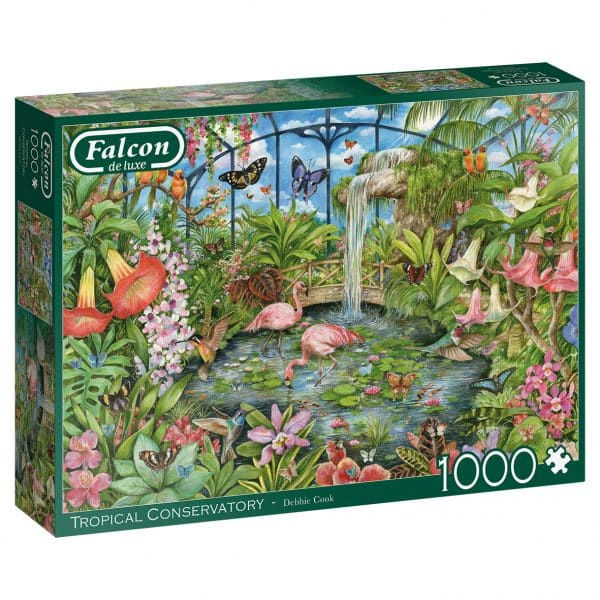 Tropical Conservatory Jumbo11295 03 Legpuzzels.nl