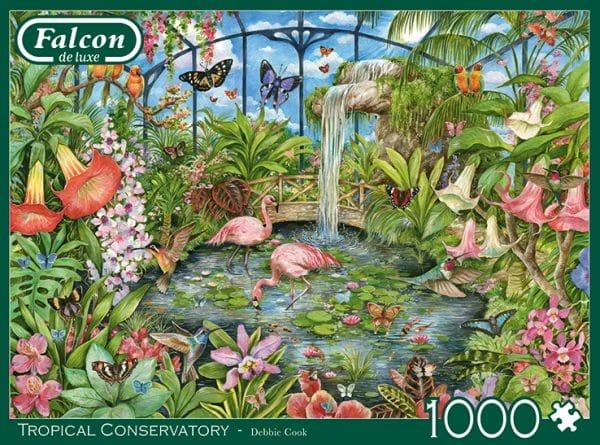 Tropical Conservatory Jumbo11295 04 Legpuzzels.nl