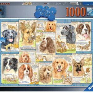 Trouwe Honden Ravensburger Legpuzzels