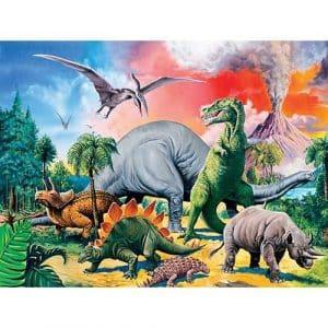 Tussen De Dinosauriërs Ravensburger Kinderpuzzels