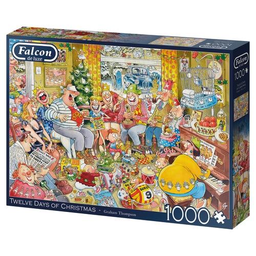 Twelve Days Of Christmas Faclon