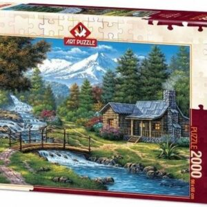 Two Cascades Art Legpuzzels