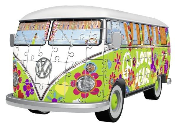 Vw T1 Hippie Style Ravensburger125326 01 Legpuzzels.nl