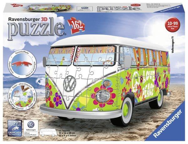 Vw T1 Hippie Style Ravensburger125326 02 Legpuzzels.nl