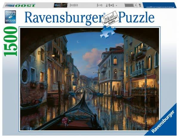 Venetiaanse Droom Ravensburger164608 02 Legpuzzels.nl