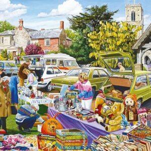 Village Church Car Boot Sale 1