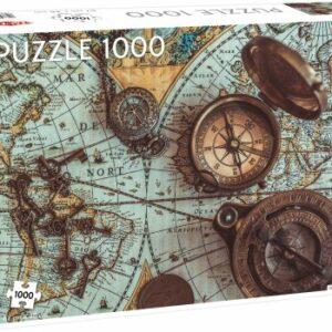 Vintage Sea Map Legpuzzels