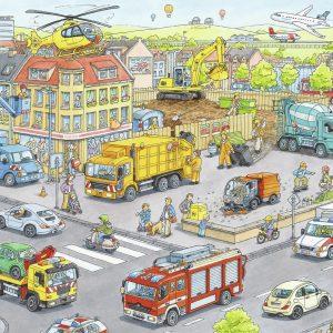 Voertuigen In De Stad Ravensburger105588 01 Kinderpuzzels.nl .jpg