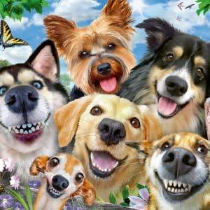 Vrolijke Honden Ravensburger164257 01 Legpuzzels.nl