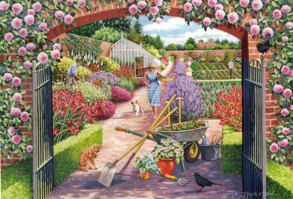 Walled Garden The House Of Puzzles Legpuzzel 5060002003787 1.jpg
